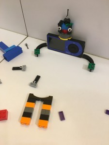 CGM robot build of legos by DanaMLewis