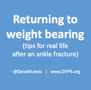 Tips and tricks for real life and living with an ankle